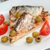 Pizza marina de Sardina en Aceite de Soya con Picante