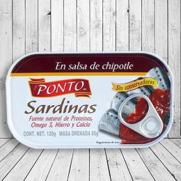 Sardinas en salsa de chipotle